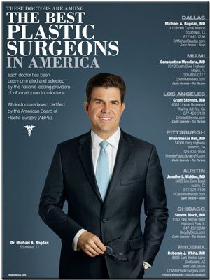 Best Plastic Surgeons in America magazine cover